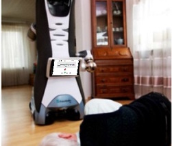 Companion robots to help fall victims at home