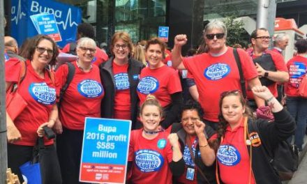 Bupa Aged Care agrees to wage rise after 'unprecedented' industrial action